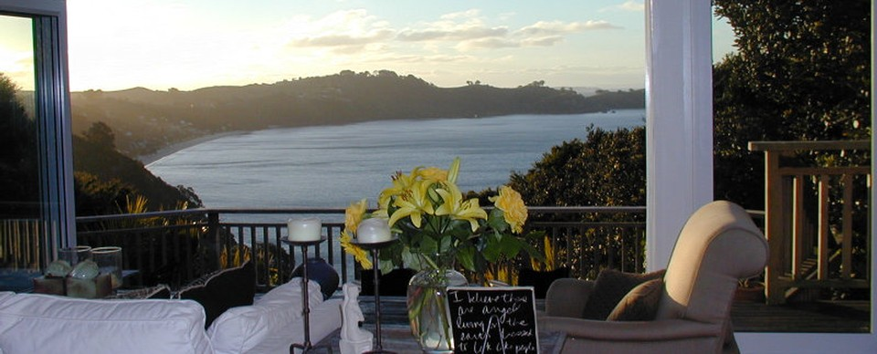 Bella Vista: Visit Waiheke Holiday Houses